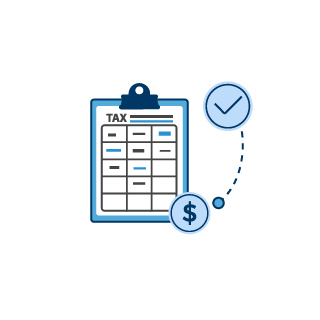 Tax Resolution Process Infographic
