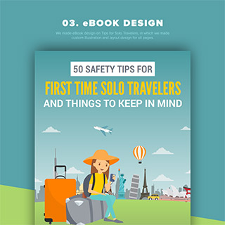 eBook Design on Tips for Solo Travelers