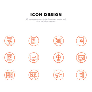 Icon Design for Website