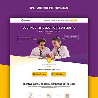 Website Design for Scorace