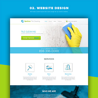 Website Design for Cleaning Industry