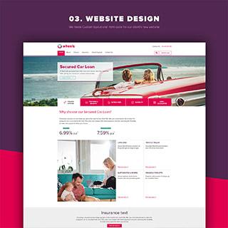 Website Design for Finance Company