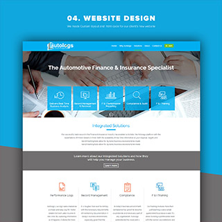 Website Design for Insurance Company