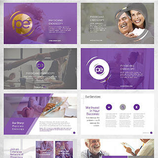 Healthcare presentation design